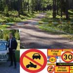 Vi säljer alla typer av vägmärken och avspärrning för vägar mm