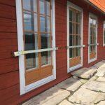 Från anrikt hus och miljö i vackra Sörmland. Våra låsbommar amvänds i alla miljöer