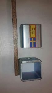 Låsbommar. visar specialledhylsor till kraftigare insticksbom i 60ggr40 mm stål
