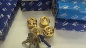 Låscylindrar lika låsning 1