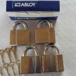 Abloy pl 350/25 lika låsning med 8 nycklar. Vi tillverkar kundanpassat efter önskemål och krav från kunden
