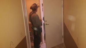 Lundsbrunn montering av dörrar och lås