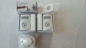Kameralarm GSM yoyo cam med branddetektor
