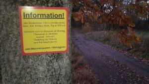 Infomation om jakt