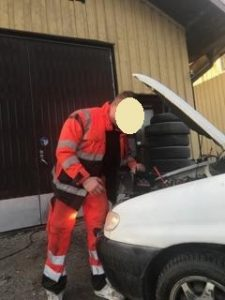 Skyddsväst bilbärgare 2